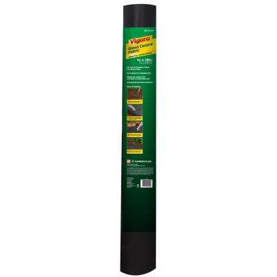 4 ft. x 200 ft. Polypropylene Landscape Weed Barrier Fabric