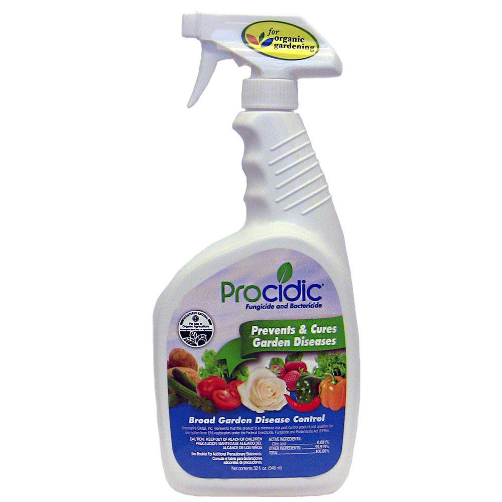 Procidic 32 oz. Ready-to-Use Fungicide and Bactericide