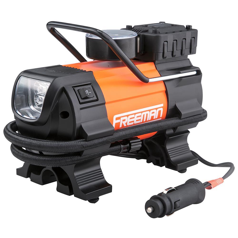 Portable 12 Volt : Freeman portable volt inflator with gauge p lmti the