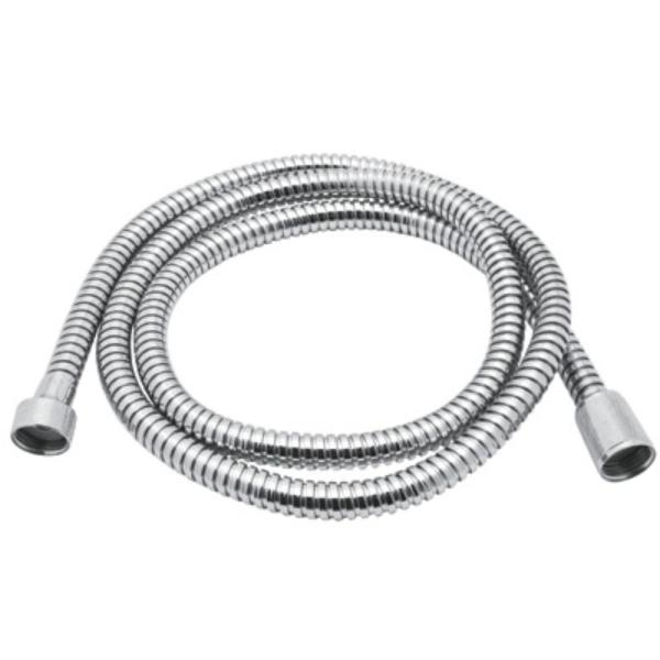 Bossini 59 in. Metal Bath Hose in Polished Chrome