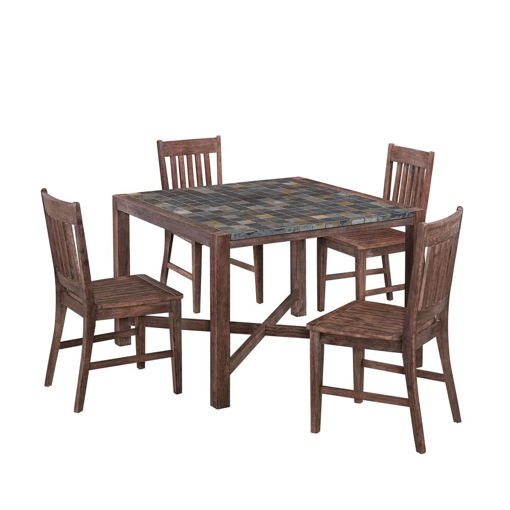 Home Styles Morocco 5-Piece Patio Dining Set