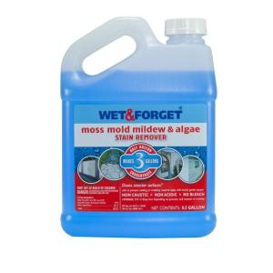 0.5 Gal. Moss Mold Mildew And Algae Stain Remover · Wet U0026 Forget ...