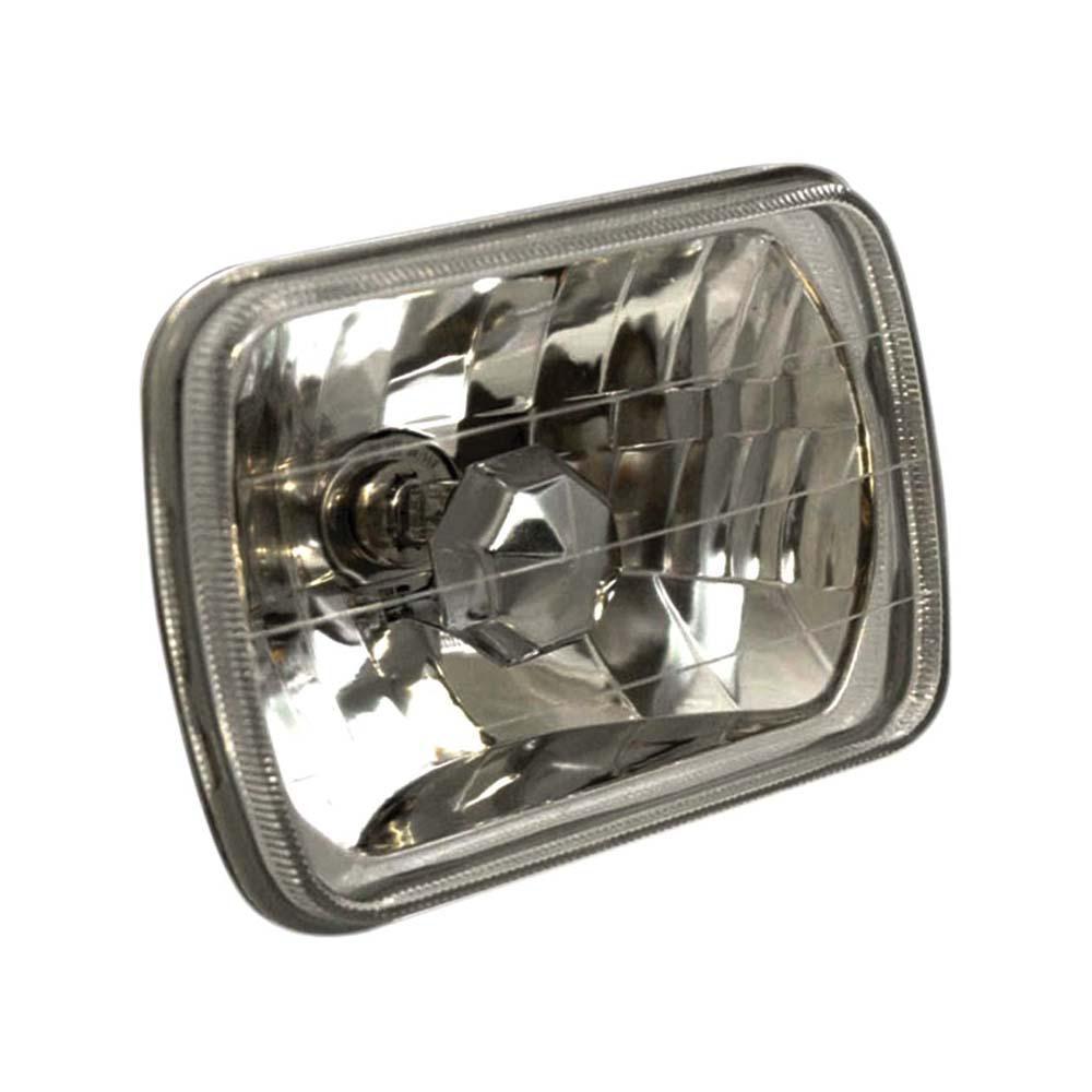 Universal Headlight Universal H4 7.5in x 5.5in Rectangle Universal Headlight