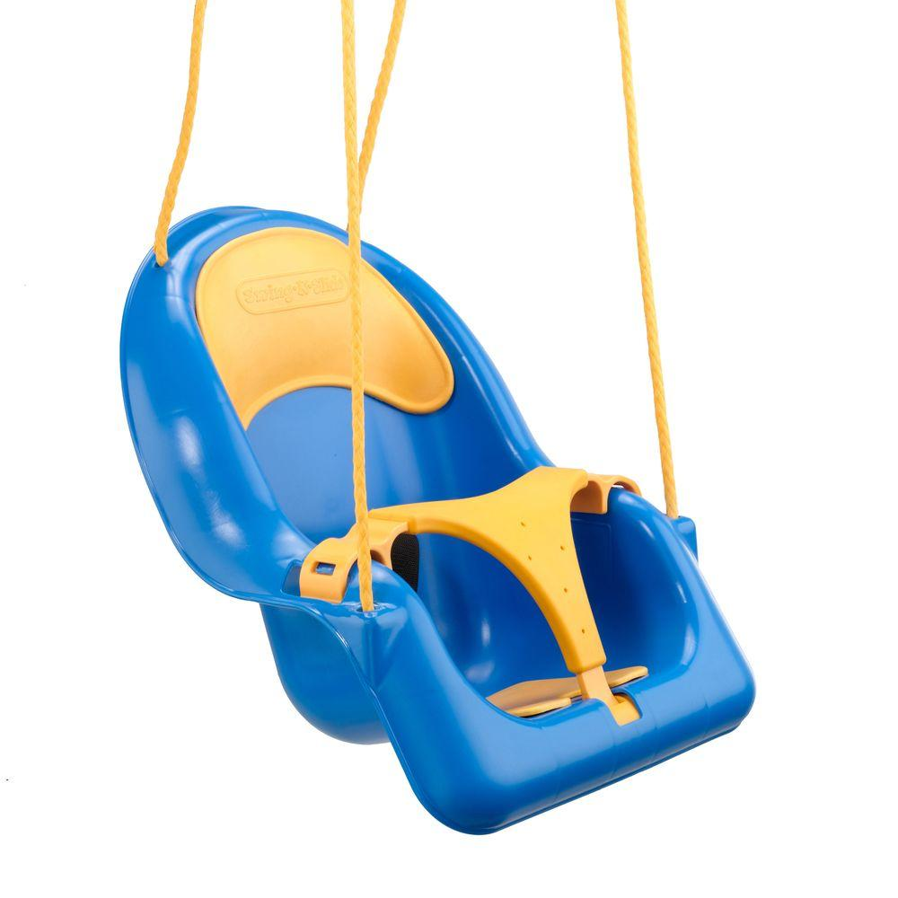 1-Person Toddler Coaster Swing