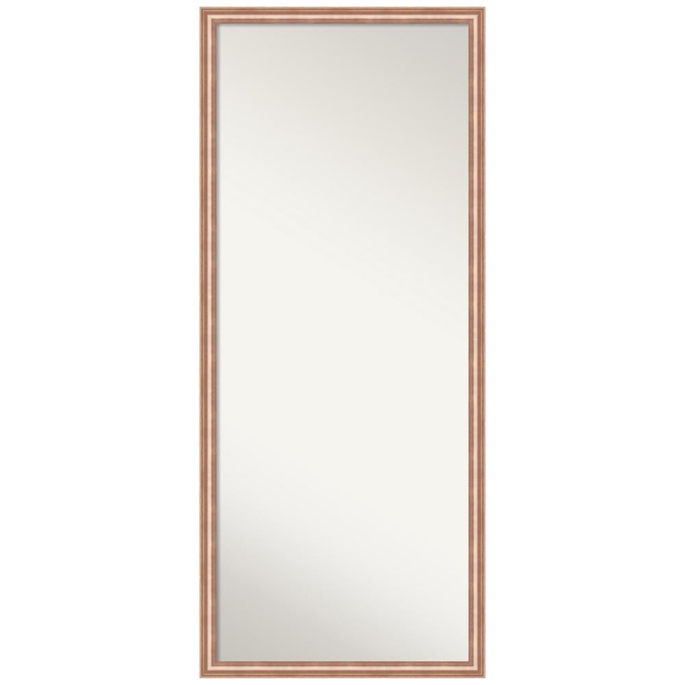 Harmony Rose Gold Full Length Framed Floor / Leaner Mirror 26.62 in. x 62.62 in.