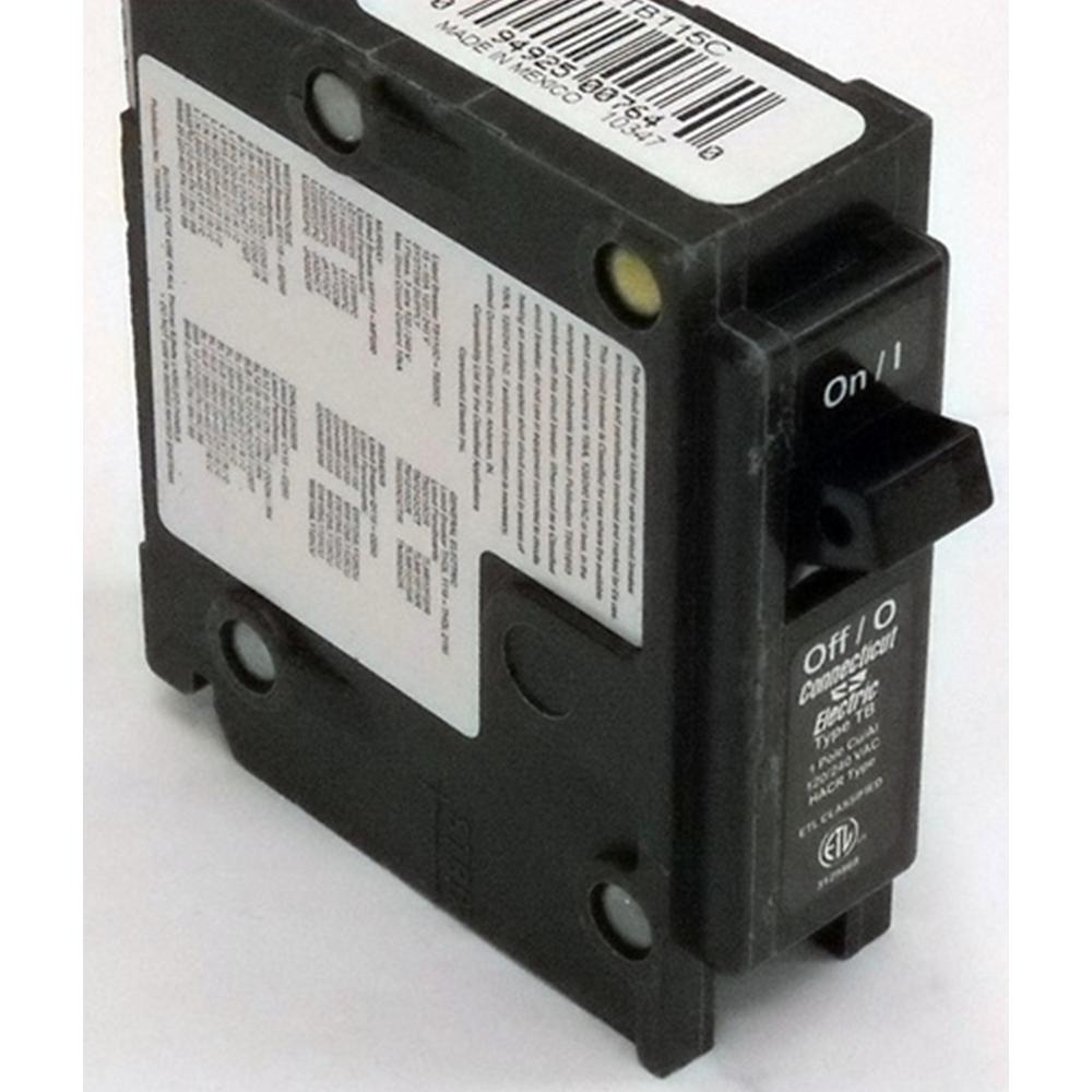 Connecticut Electric 40 Amp 1 Pole Circuit Breaker Classified Type Electrical Tb