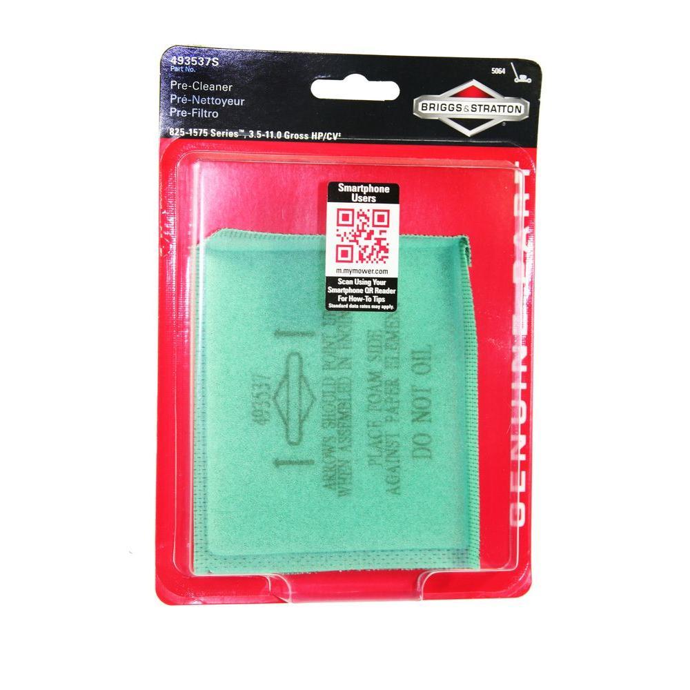 Briggs & Stratton Air Filter for 3.5 - 6.75 HP Quantum En...