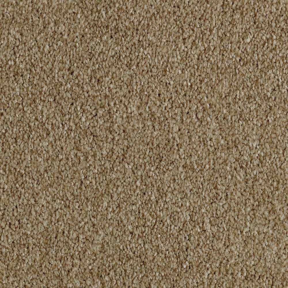 Carpet Sample - Tides Edge - Color Sahara Textured 8 in. x 8 in.