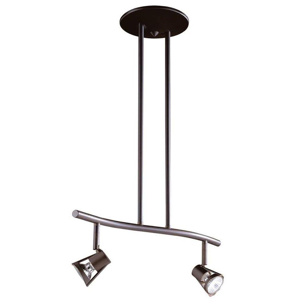 Cassiopeia 2-Light Ceiling Oil Rubbed Bronze Incandescent Island Light