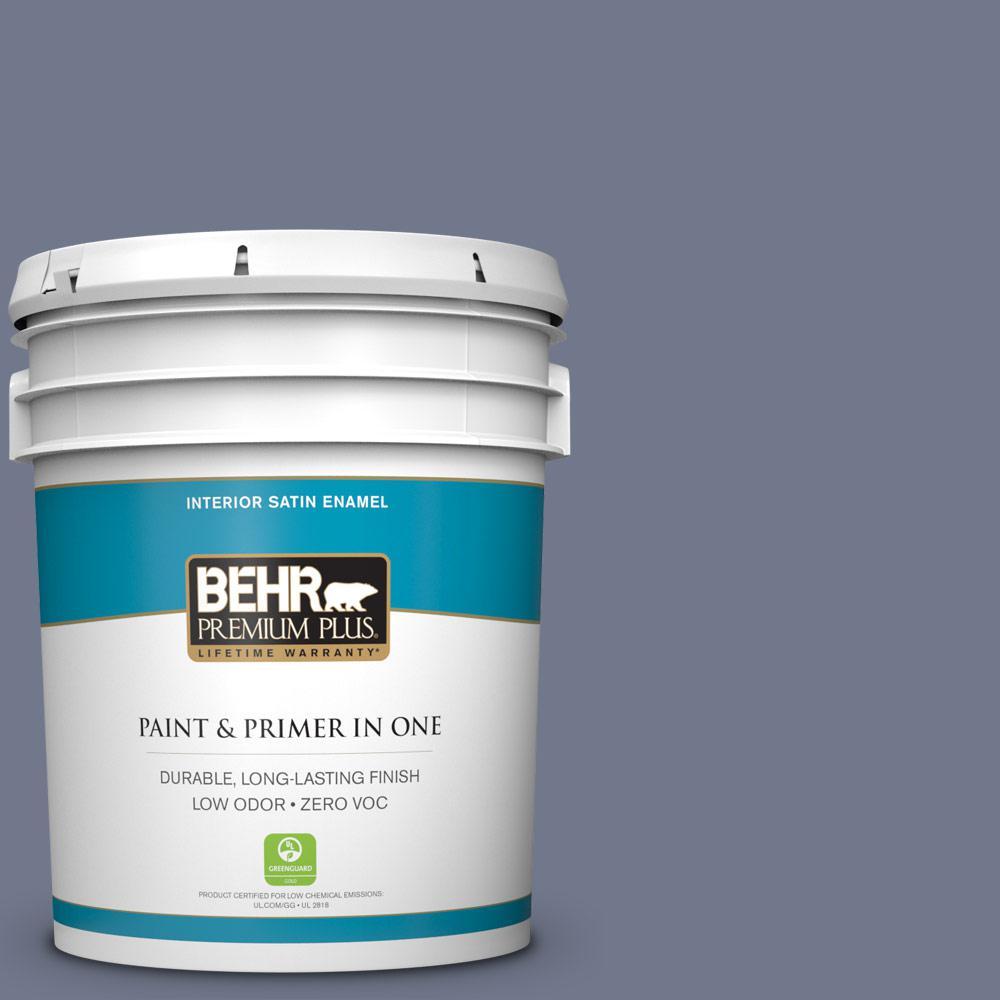 BEHR Premium Plus 5-gal. #S550-5 Fantasia Satin Enamel Interior Paint