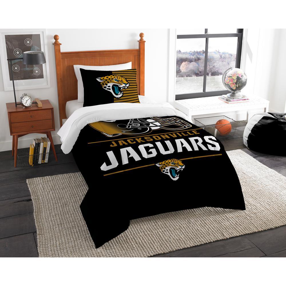 Jaguars 3-Piece Draft Multi Twin Comforter Set