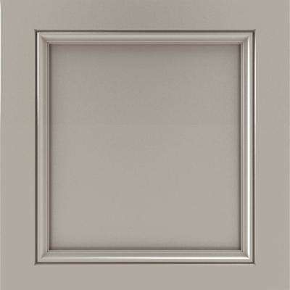 14.5x14.5 in. Cabinet Door Sample in Vance Sterling
