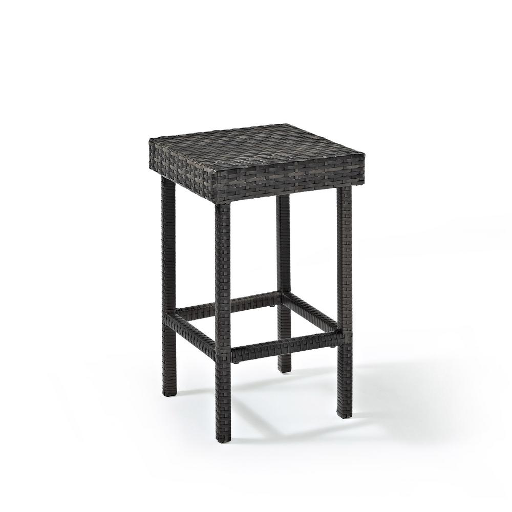 Crosley Palm Harbor Wicker Outdoor Bar Stool (2-Pack)