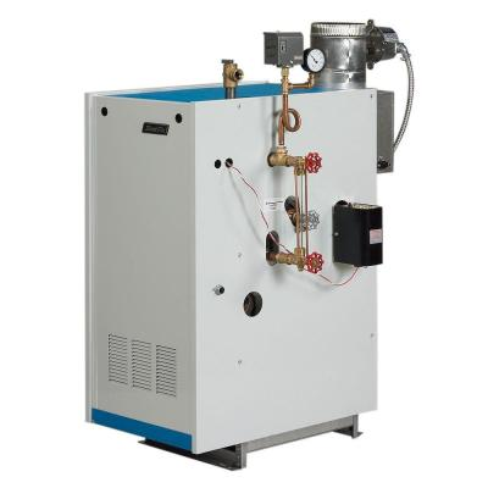 Galaxy Natural Gas Steam Boiler with 160,000 BTU Input 98,000 BTU Output Intermittent Electronic Ignition