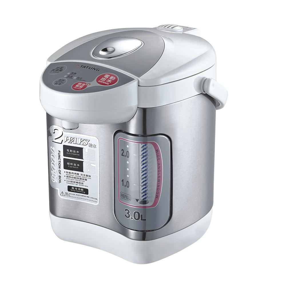 Tatung 3 L Hot Water Dispenser, Silver