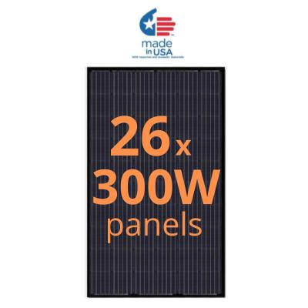 300-Watt Monocrystalline Solar Panel (26-Pack)