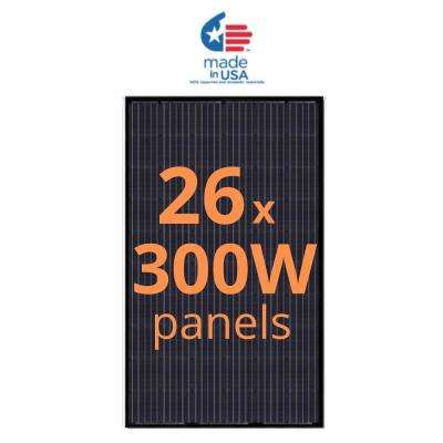 300-Watt Monocrystalline Solar Panel (26-Pack)