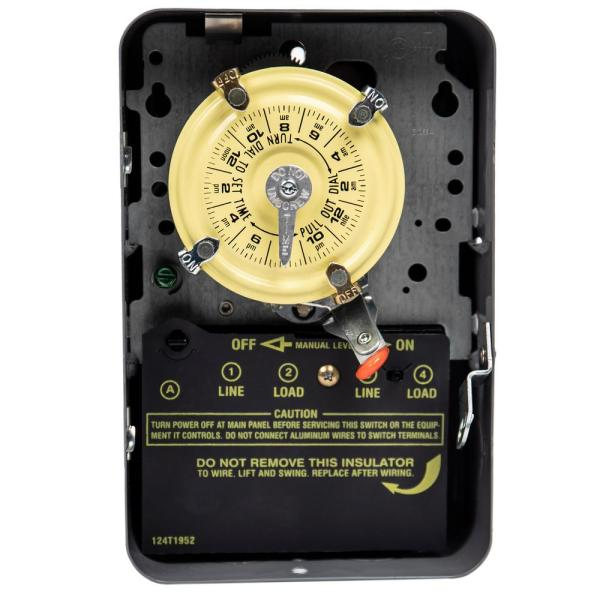 intermatic 40amp 240volt electric water heater time switch