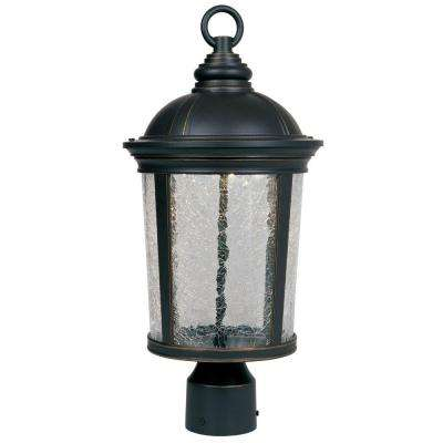 Winston Aged Bronze Patina Outdoor LED Post Lantern
