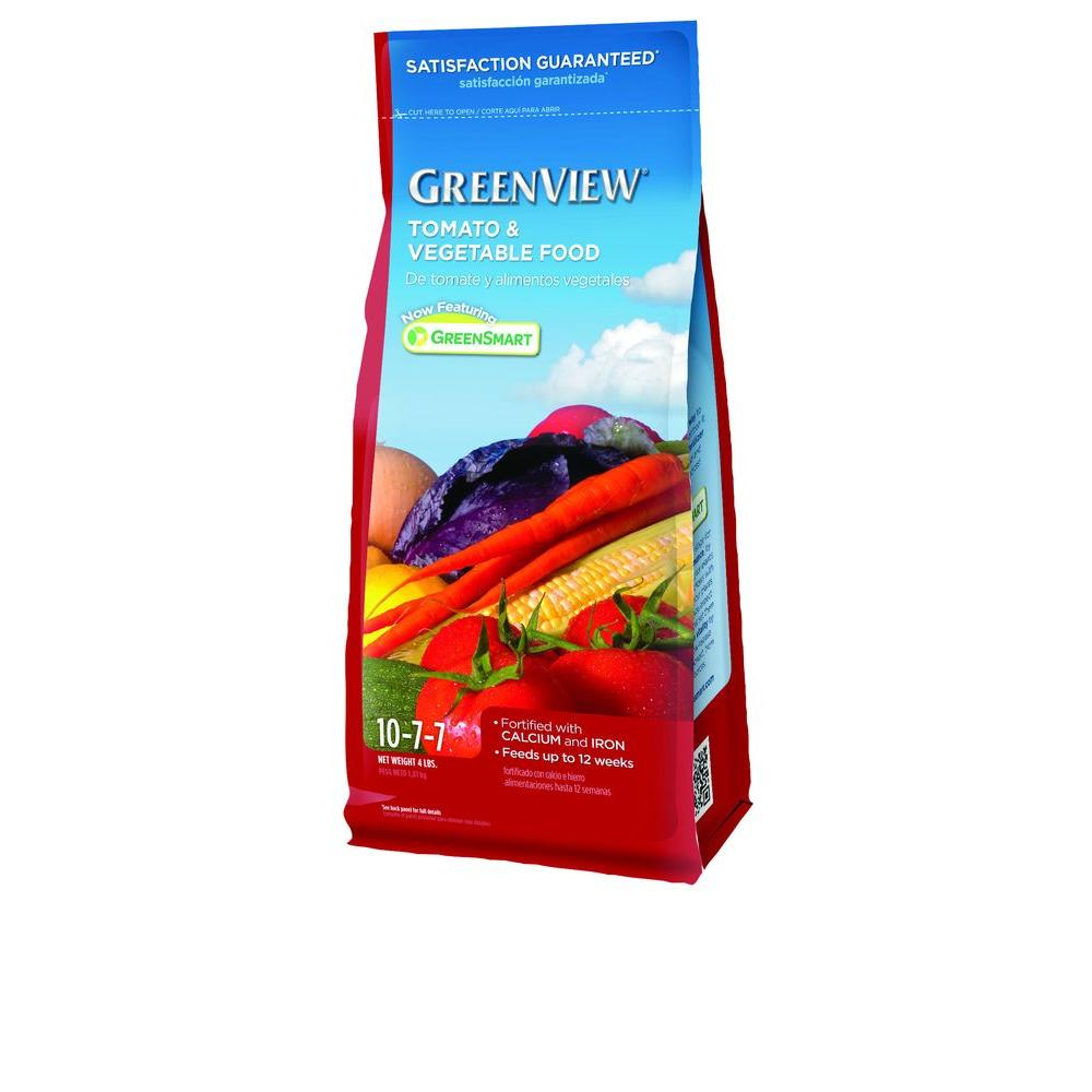 Greenview 4 lb. Tomato and Vegetable Food