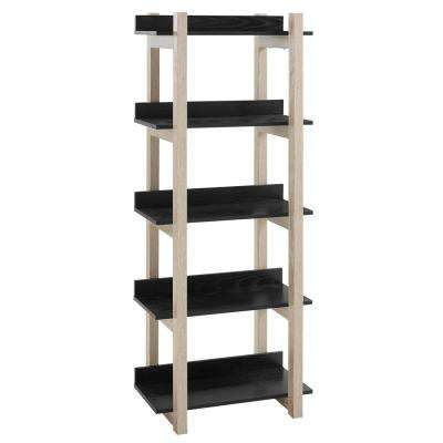 Reprieve Natural Black Bookcase