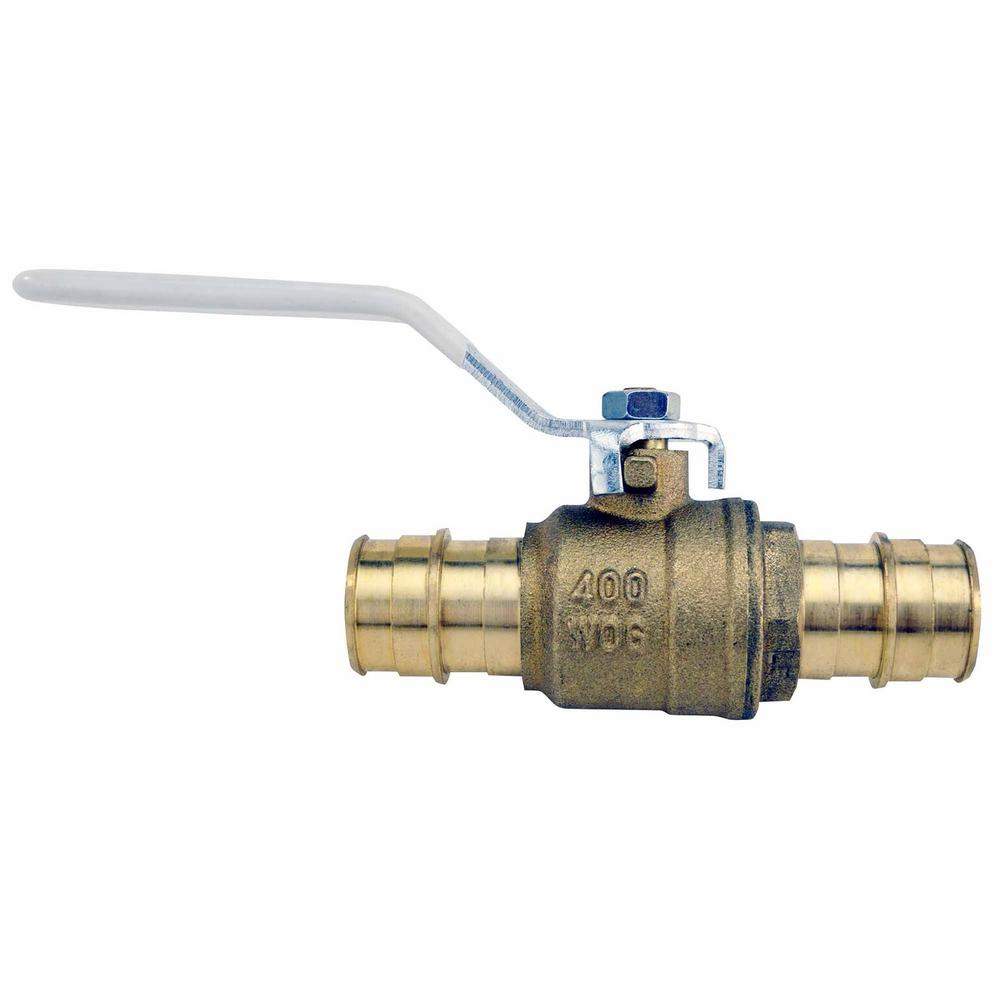 3/4 in. Brass PEX-a Barb Ball Valve