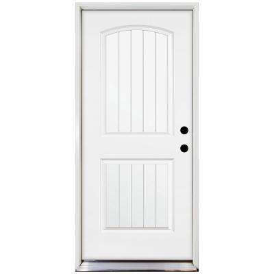 Premium ...  sc 1 st  The Home Depot & Exterior Prehung - Doors Without Glass - Steel Doors - The Home Depot pezcame.com