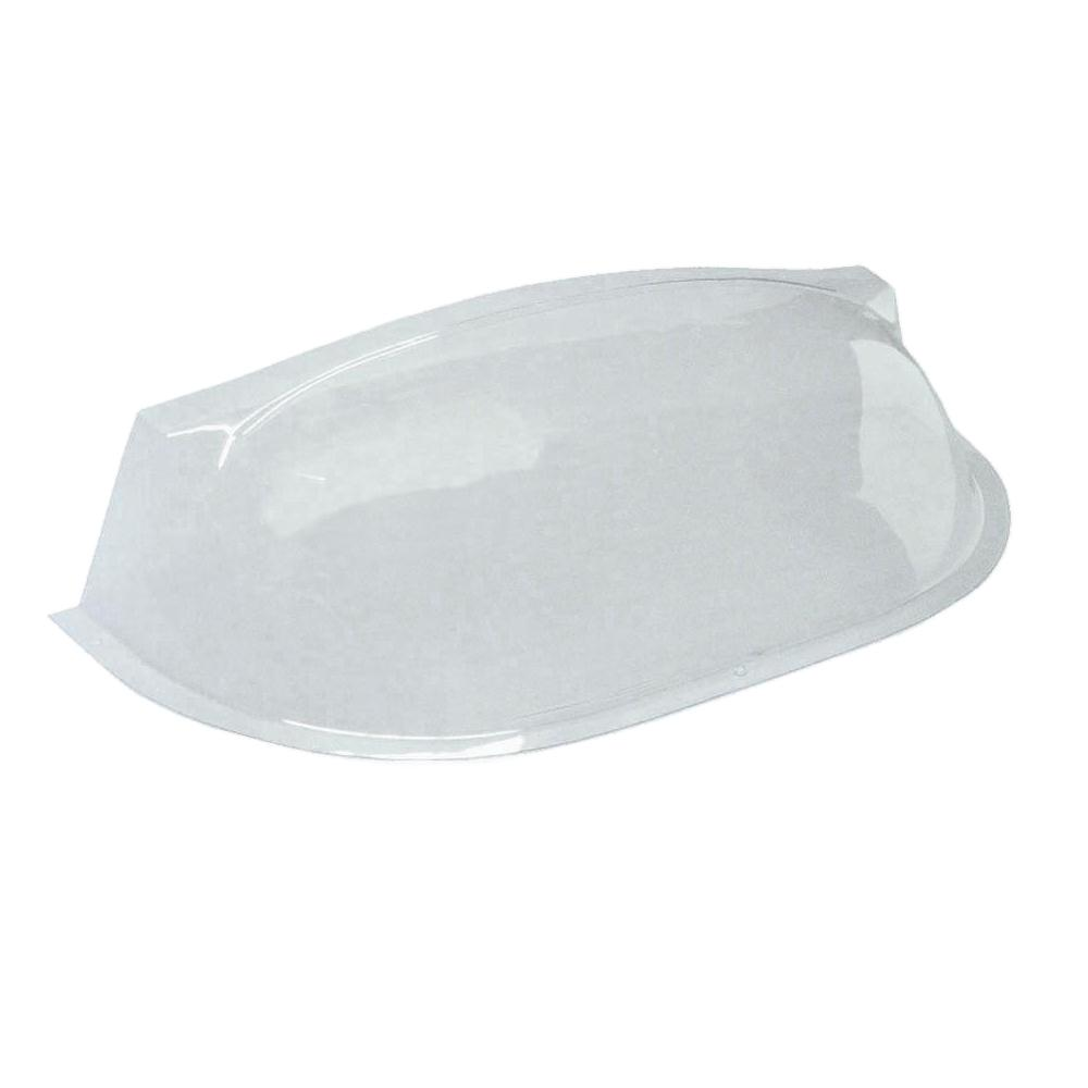 40 in. x 9-1/2 in. Polyethylene Circular Bubble Window Well Cover