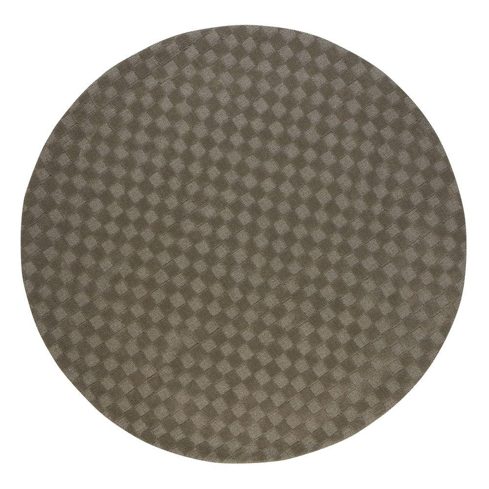 Home Decorators Collection Apollo Light Gray 7 ft. 9 in. Round Area Rug