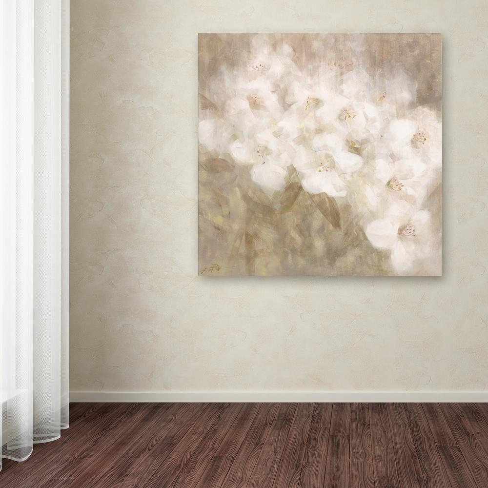 Trademark Fine Art 14 In X 14 In Quot Wild Flowers Ii Quot By Li
