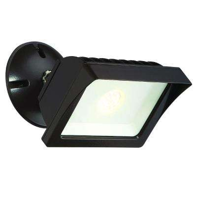 Bronze Outdoor LED Adjustable Single-Head Flood Light