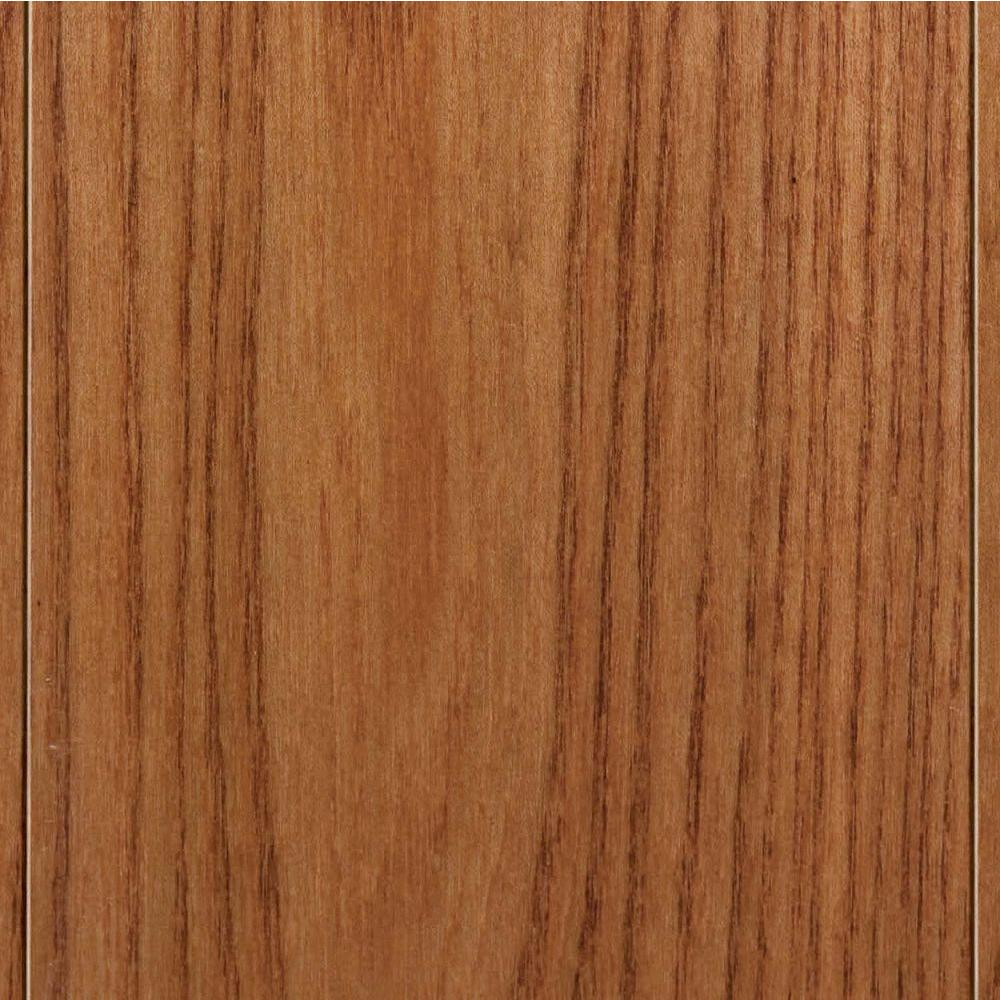 Home Legend High Gloss Elm Sand Solid Hardwood Flooring - 5 in. x 7 in. Take Home Sample-DISCONTINUED