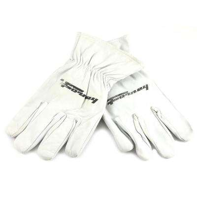 Lined Goatskin Leather Driver's Gloves (Men's XL)
