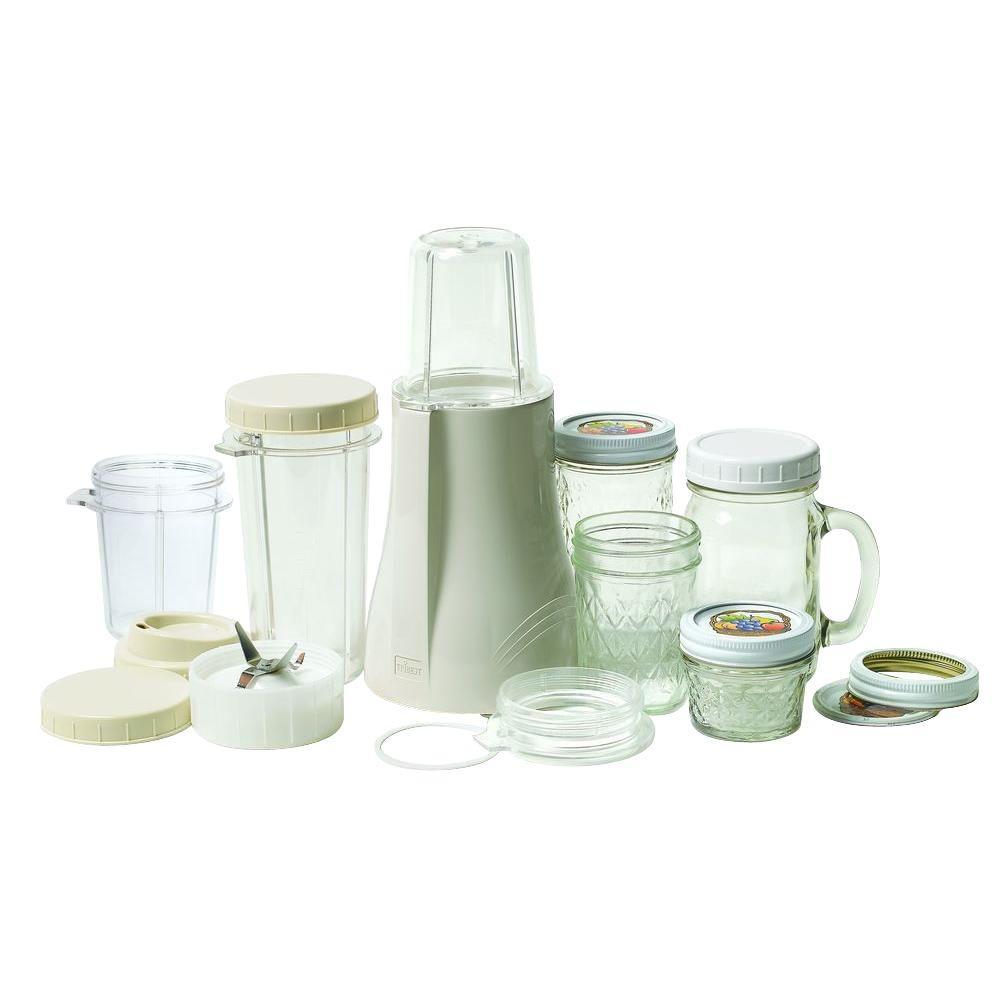 Mason Jar 16 oz. Single Speed Cream Personal Blender