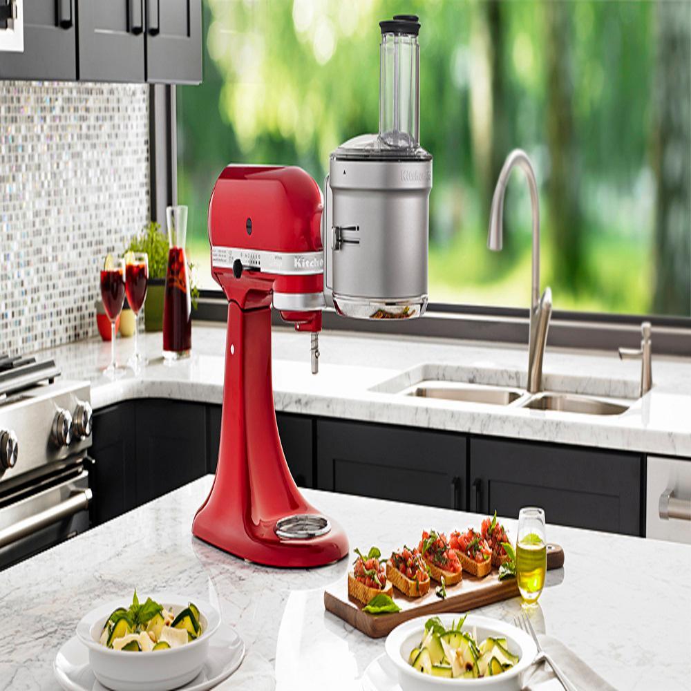 KitchenAid KSM2FPA Gray Food Processor Attachment for ...