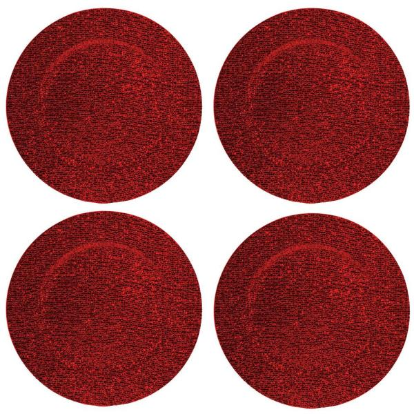 Surprising Home Essentials Beyond 13 In 4 Piece Glitter Red Plate Charger Set Download Free Architecture Designs Grimeyleaguecom