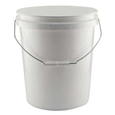 5-Gal. White Project Bucket (204-Pack)