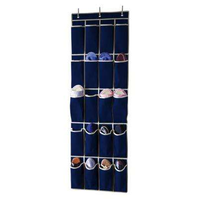 20 Pocket Over the Door Shoe Organizer