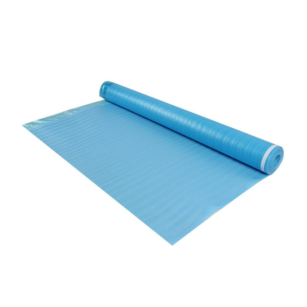 Dekorman Laminate Flooring Blue Foam Underlayment 3 Mm T X Ft W 61