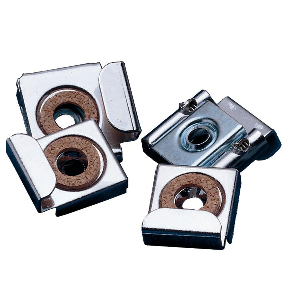 Astoria Spring-Loaded Mirror Clips (4-Pack)