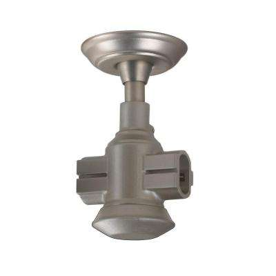 Brushed Nickel Flexible Track Coupler