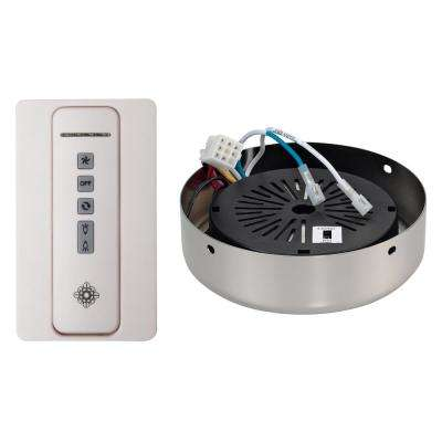 NEO Indoor White/Polished Nickel Remote Control Transmitter/Receiver