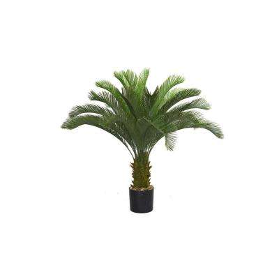 44 in. x 44 in. x 48 in. H Cycas Palm Tree