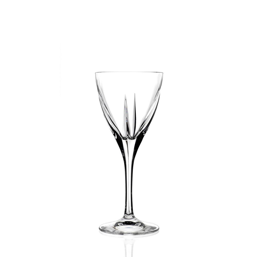 Lorren Home Trends Rcr Fusion Crystal Wine Glass Set Of 6 255530 The Home Depot