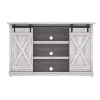 Cottonwood TV Stand for 60 in. TVs in Sargent Oak and White