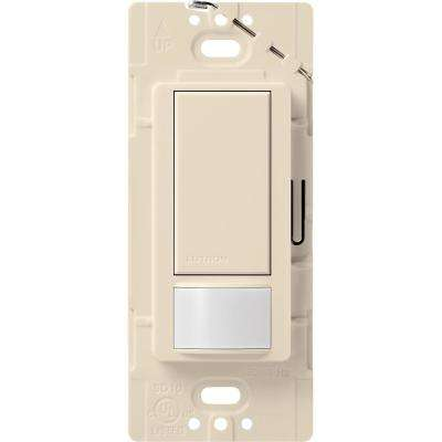 Maestro Vacancy Sensor switch, 2-Amp, Single-Pole, Light Almond
