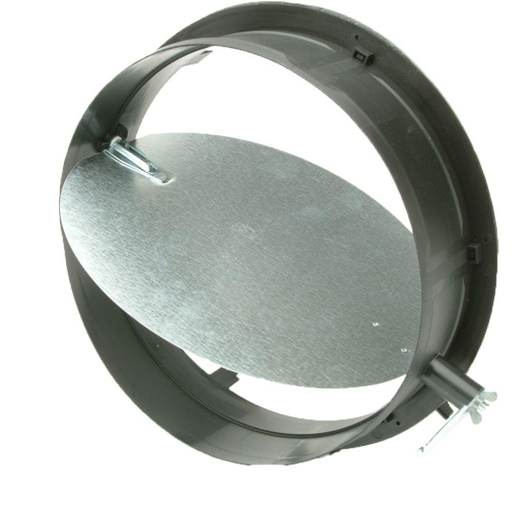 12 in. Take Off Start Collar with Damper for HVAC Duct