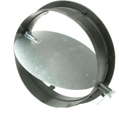 12 in. Take Off Start Collar with Damper for HVAC Duct Work Connections