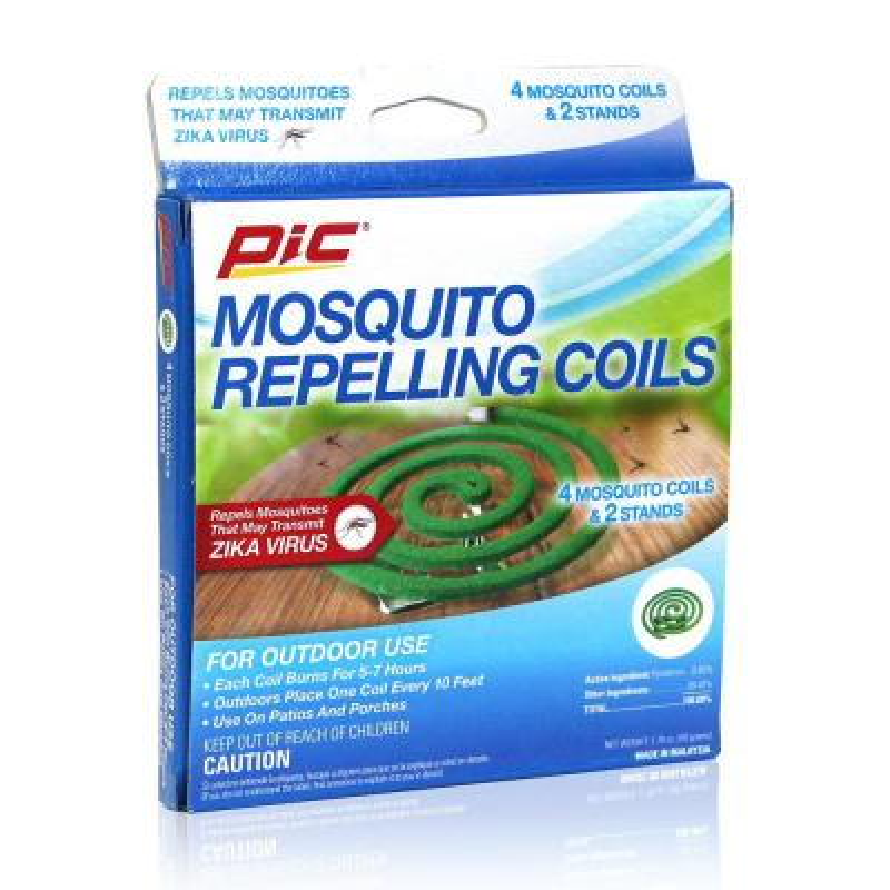 Mosquito Repellent Coils (4-Pack)