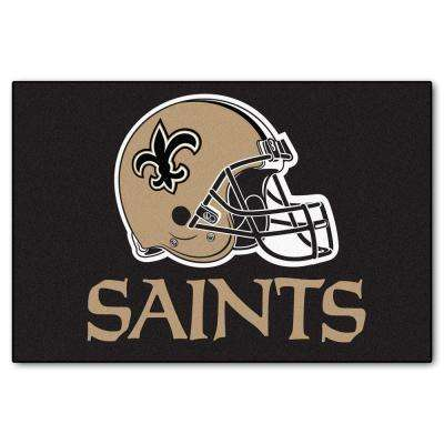 New Orleans Saints 19 in. x 30 in. Accent Rug